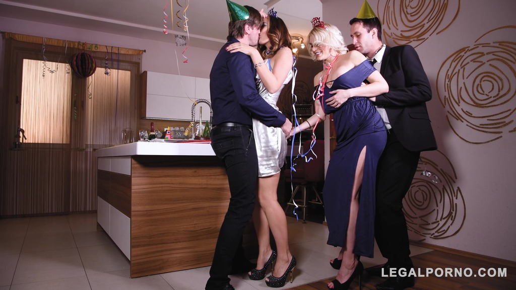 Group sex on New Year's Eve – Kitana Lure, Ani Blackfox
