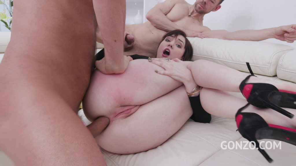 Lara Malvo anal fucking 3on1 with DP & double vaginal SZ2347
