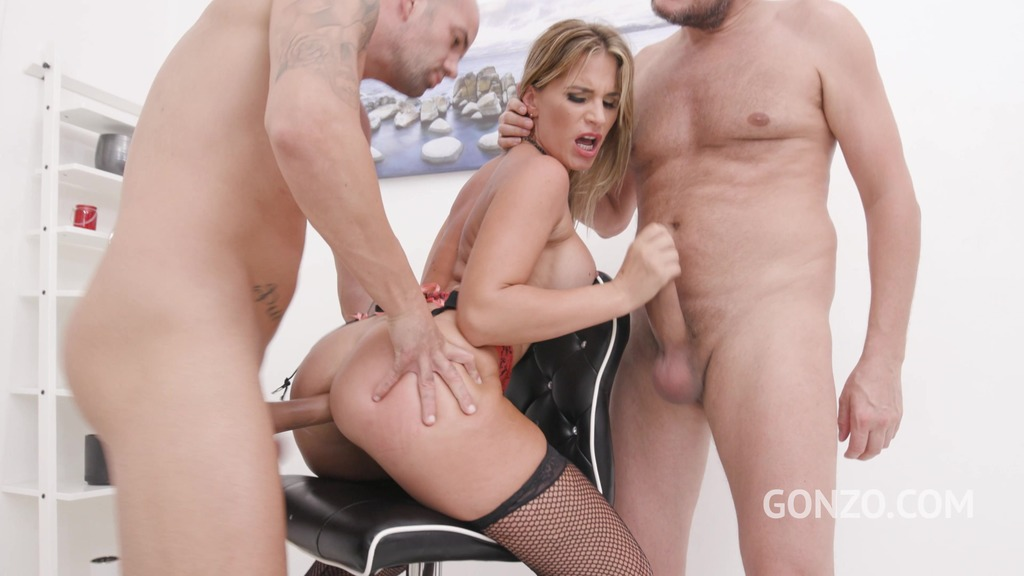 Leidy de Leon welcome to Gonzo with intense first time double penetration SZ2523