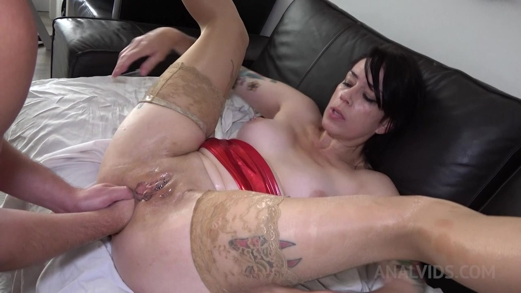 Adeline Lafouine gets fucked hard and double fisted! OTS423