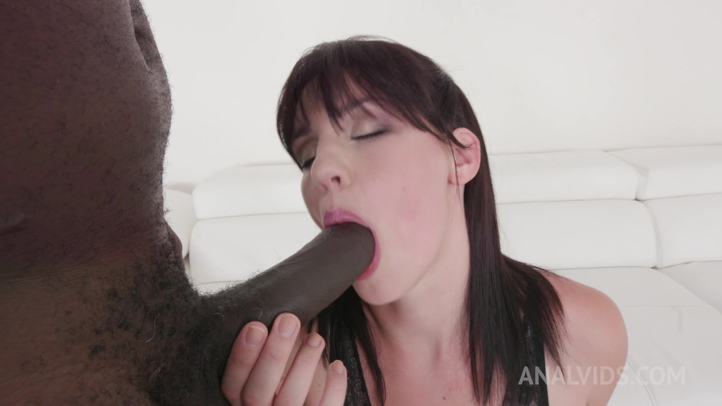 Amanda Hill casting with big black cock KS038