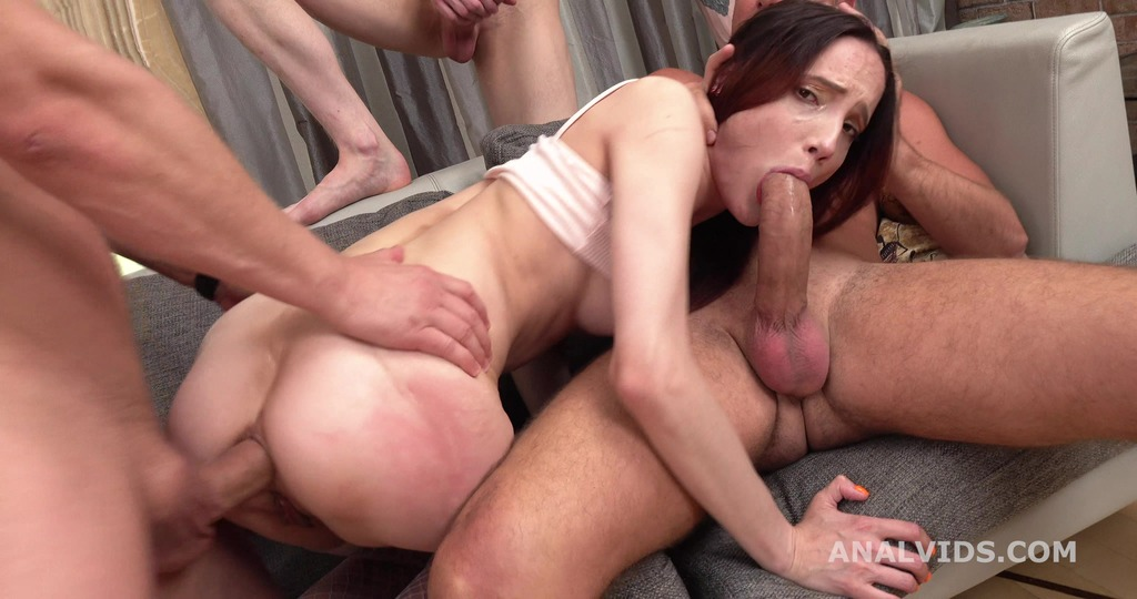 Thats a DAP, isn't it? Mia Sanders First DAP with Balls Deep Anal GL240