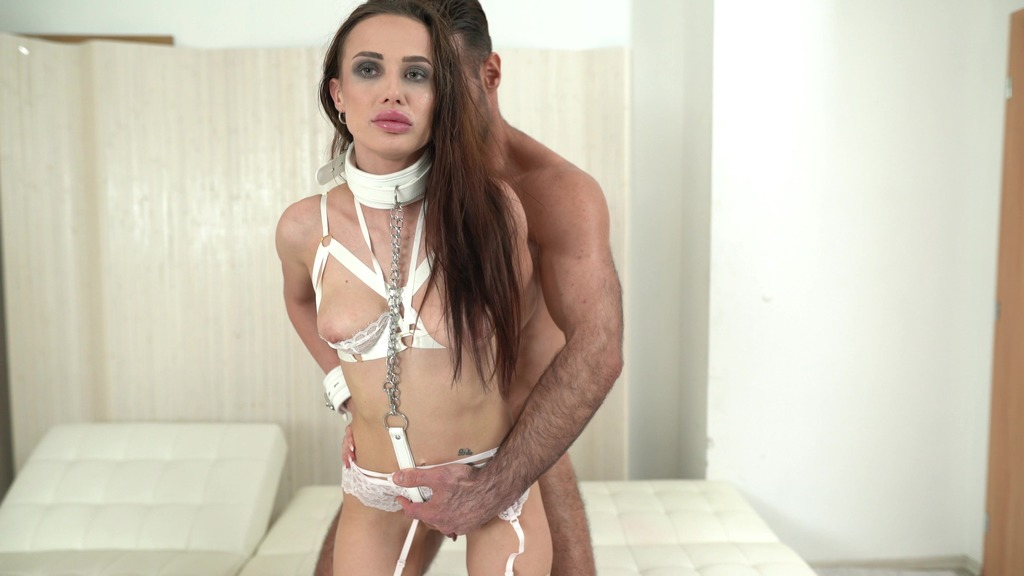 BDSM Nicole Love Bound 4on1 0%pussy DAP anal, gapes, deepthroat, hardcore, Bound, tied up, facial cumshot & swallow NF076
